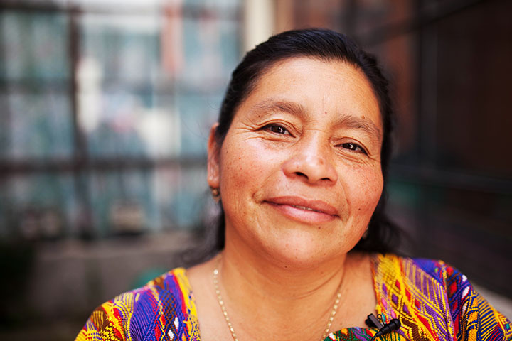 Rafaela now works helping other women who are victim to violence and oppression.
