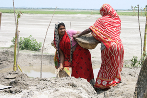 Working with women in Bangladesh