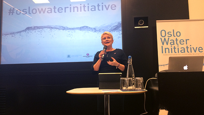 Oslo Water Initiative 2014 Anne-Marie Helland