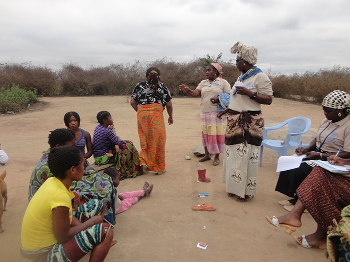 Social monitoring work carried out in Angola