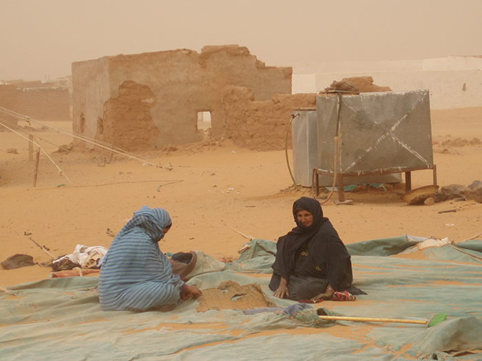 Refugees hit by disaster in Western Sahara